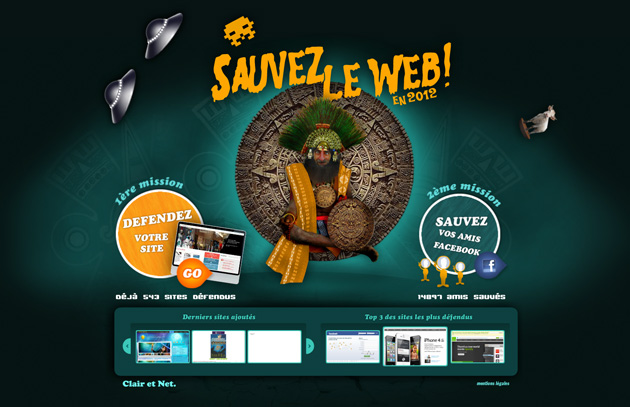5 sites riches et originaux webdesign