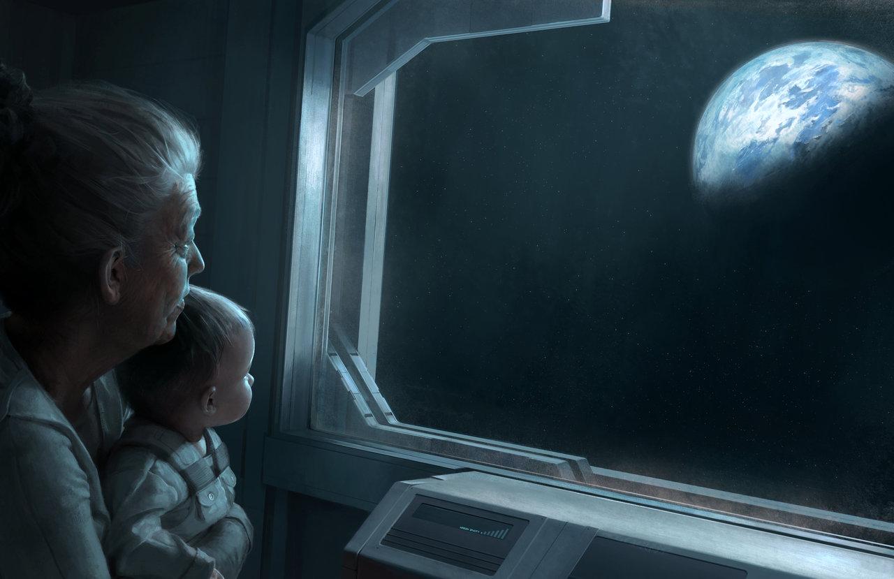 Les superbes Digital paintings de Chase Stone