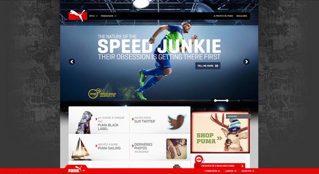 Webdesign Puma