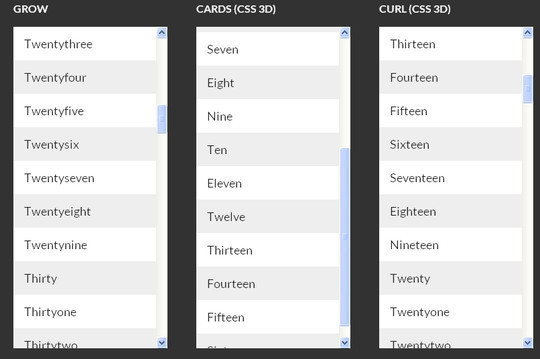 Transition et animations CSS3