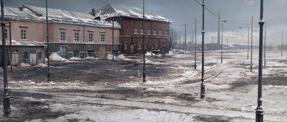 40+ environnements et concept arts de Tuomas Korpi