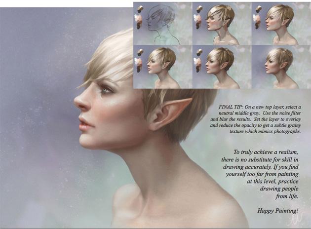 20 nouveaux tutoriels de qualité gratuits de digital painting