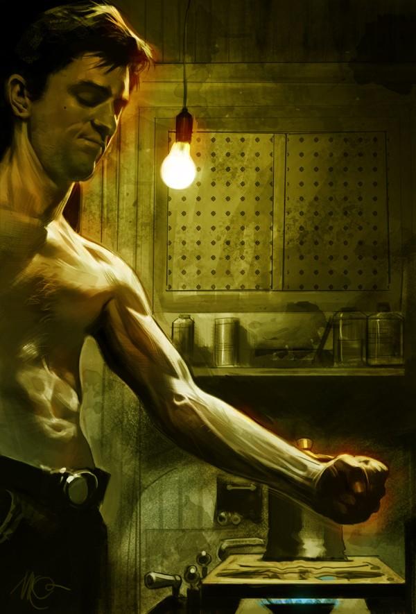 100+ Digital paintings de personnages et scènes de films cultes