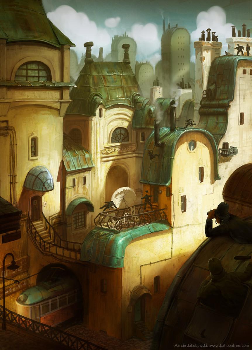 25 Impressionnants digital paintings de Marcin Jakubowski