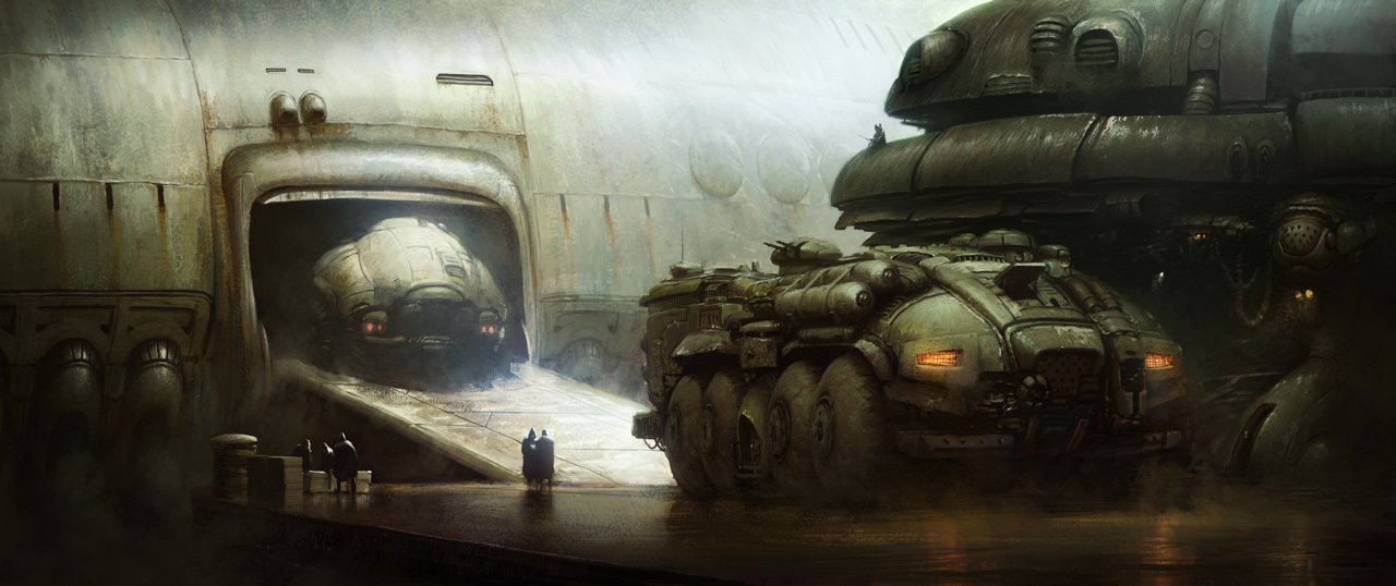25 Impressionnants digital paintings de Marcin Jakubowski