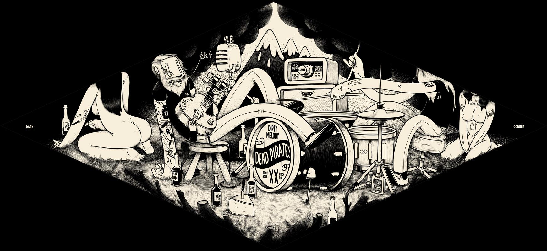Illustrations déjantées de Mc Bess