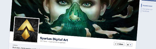 Spartan Digital Art sur Facebook