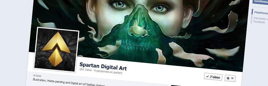 Nouvelle création : «Oh shit !», digital painting de Spartan