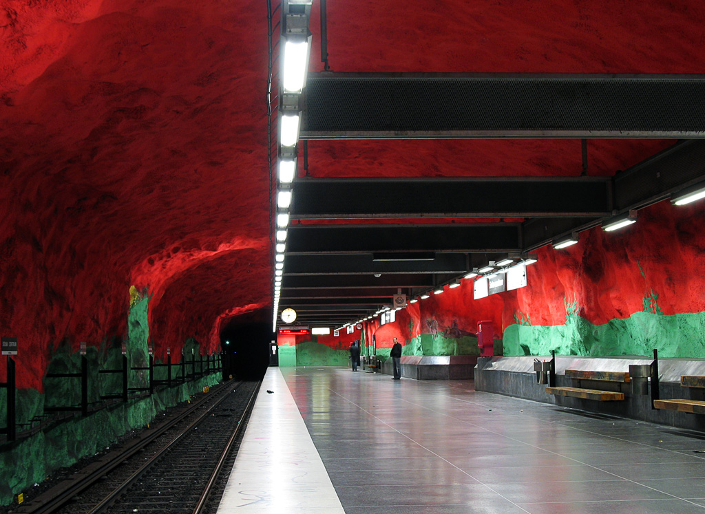 Inspiration : Stations de métro stupéfiantes et magnifiques du monde entier