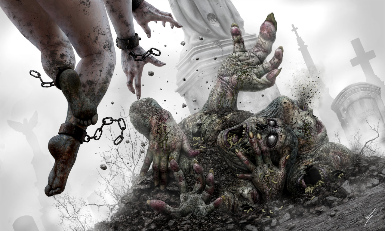 Les fantastiques illustrations qui envoient du lourd de Liam Peters