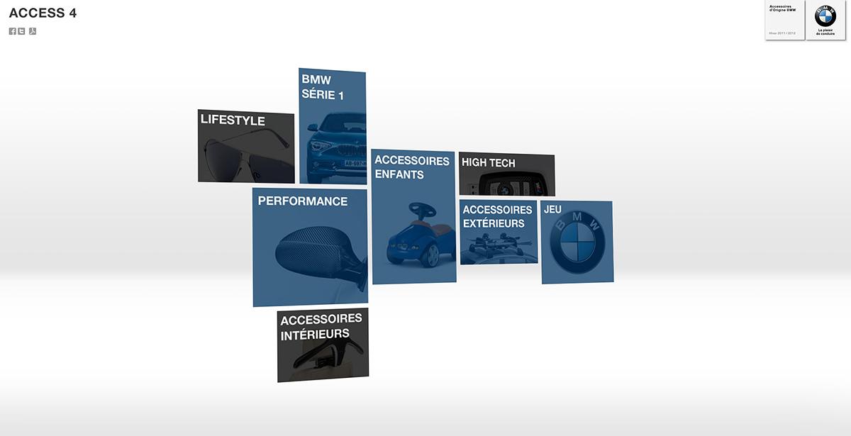 BMW web design