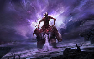 Colossus of the Death digital painting
