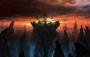 The last world matte painting