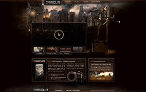 Obscur web design