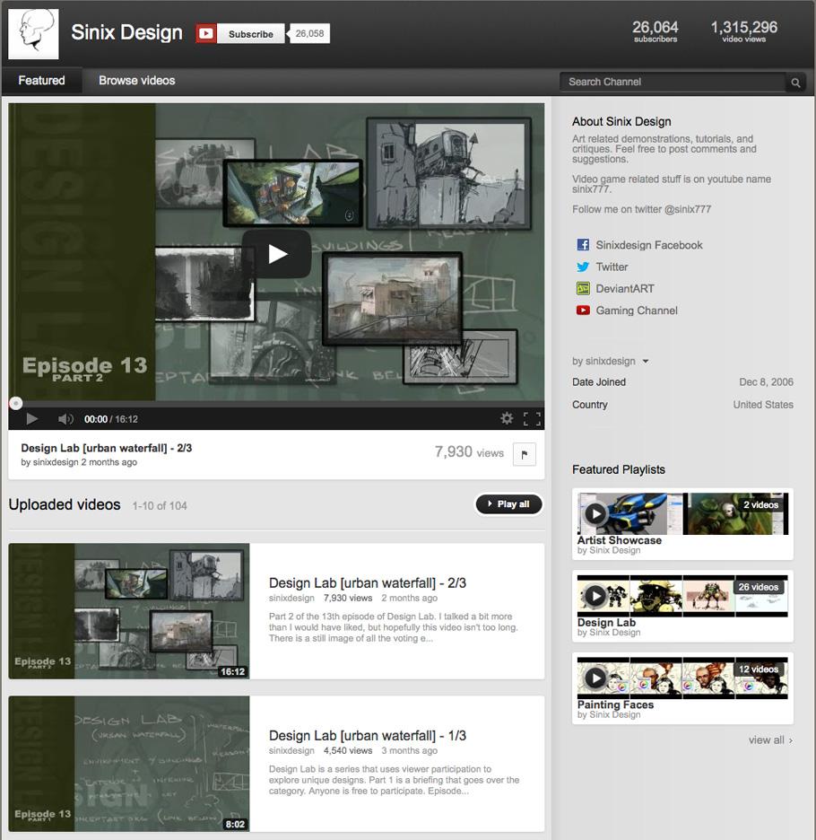 5 Chaînes vidéos de Tutoriels de digital painting gratuites à suivre #2