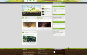 Living Tuts web design