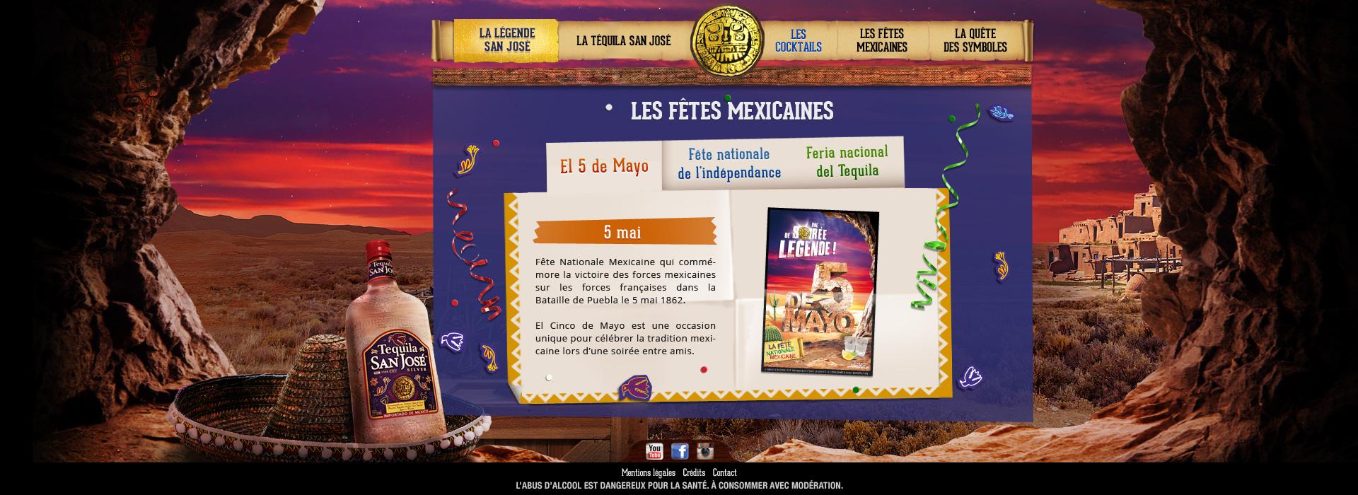 San Jose HTML5 website