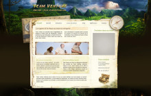 Team Venture web design