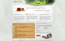 Real Tea web design
