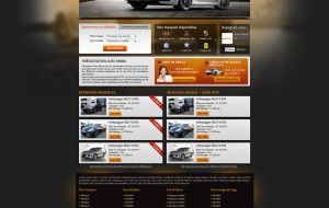 Automobil web design