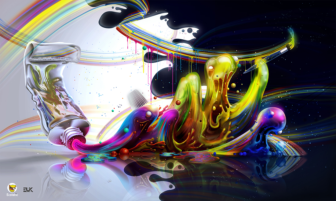 Evoke Flow art digital