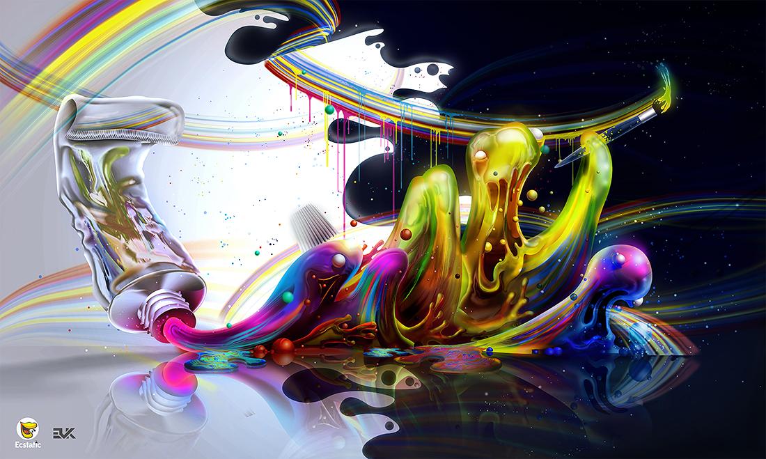 Evoke Flow art digital