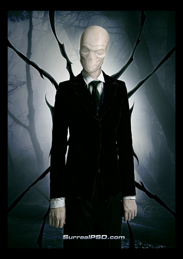 http://www.surrealpsd.com/halloween-photoshop-slenderman-walkthrough/
