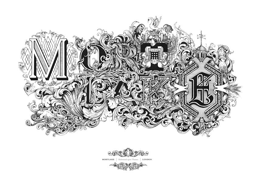 Les illustrations à base de typographie léchées de Greg Coulton