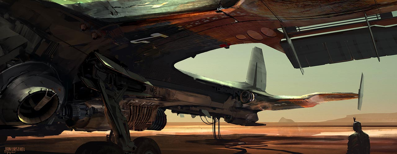 30+ Concept arts du digital painter Ian Urschel