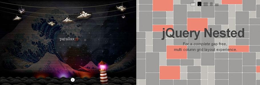50 super plugins jQuery récents pour rendre votre site ergonomique et attrayant