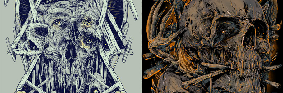 Les illustrations hyper détaillées de Rafal Wechterowicz