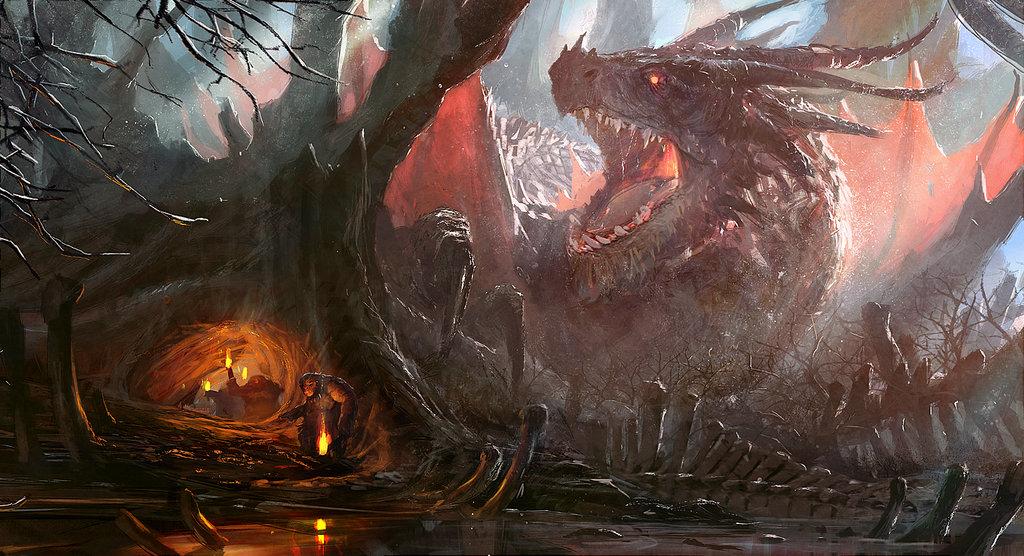 L'univers d'heroic fantasy du français Grosnez
