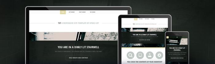 50 templates gratuits HTML5 à télécharger gratuitement