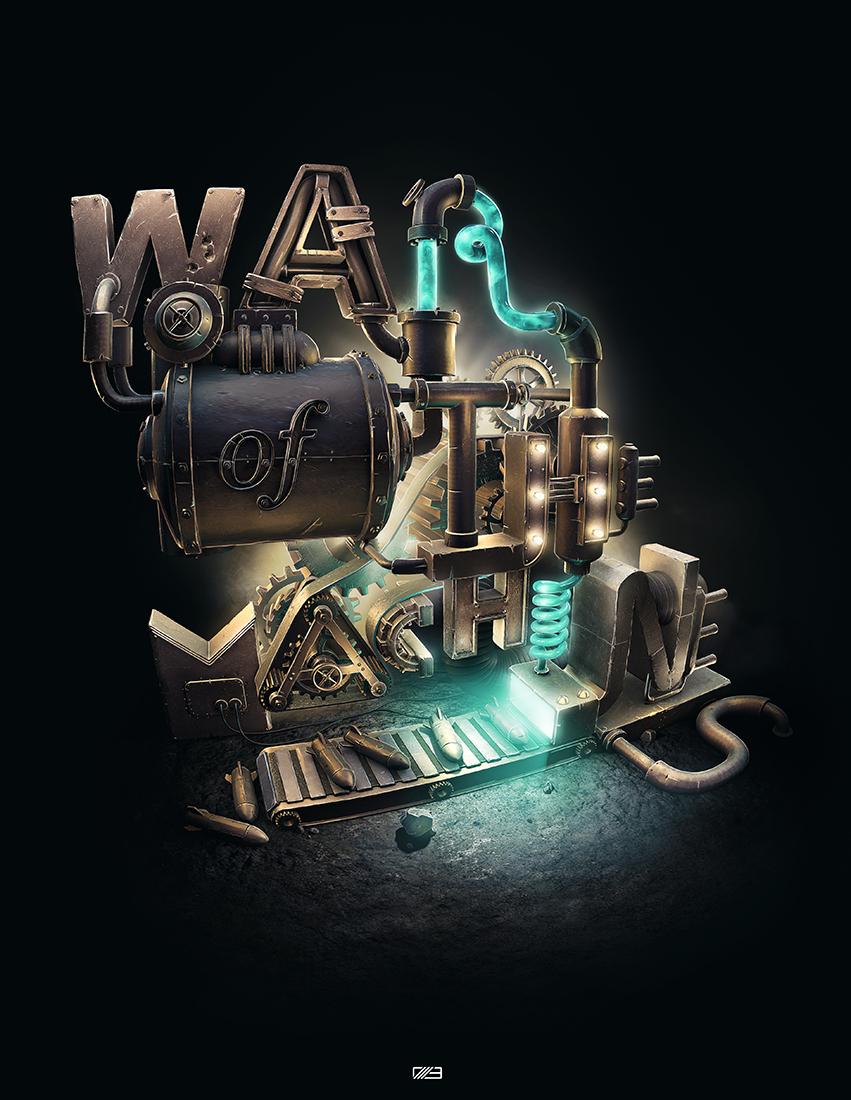 """Slashthree : nouvelle exhibition """"WAR"""""""
