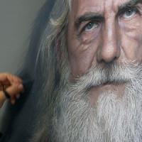 Les Dessins au pastel photo réalistes de Rubén Belloso