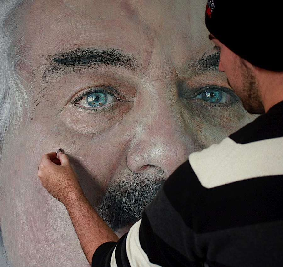 Les Dessins au pastel photo réalistes de Rubén Belloso