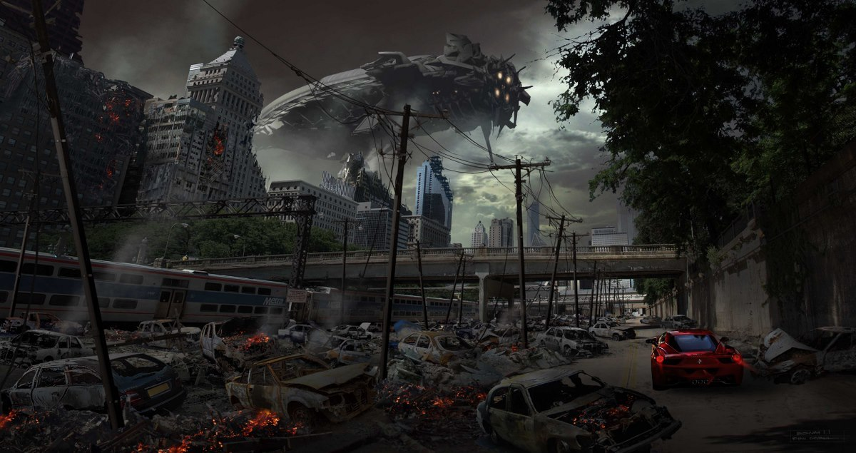 45 concept arts du célèbre artiste digital Ryan Church