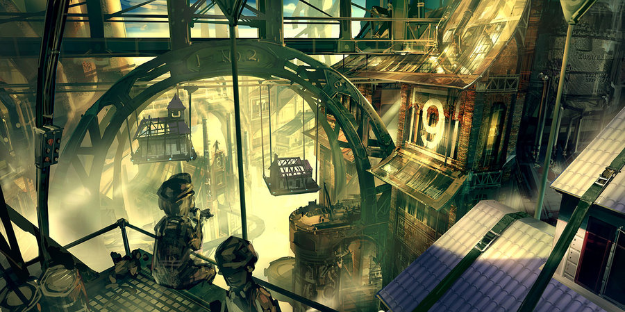 Les illustrations du digital painter Ben Lo