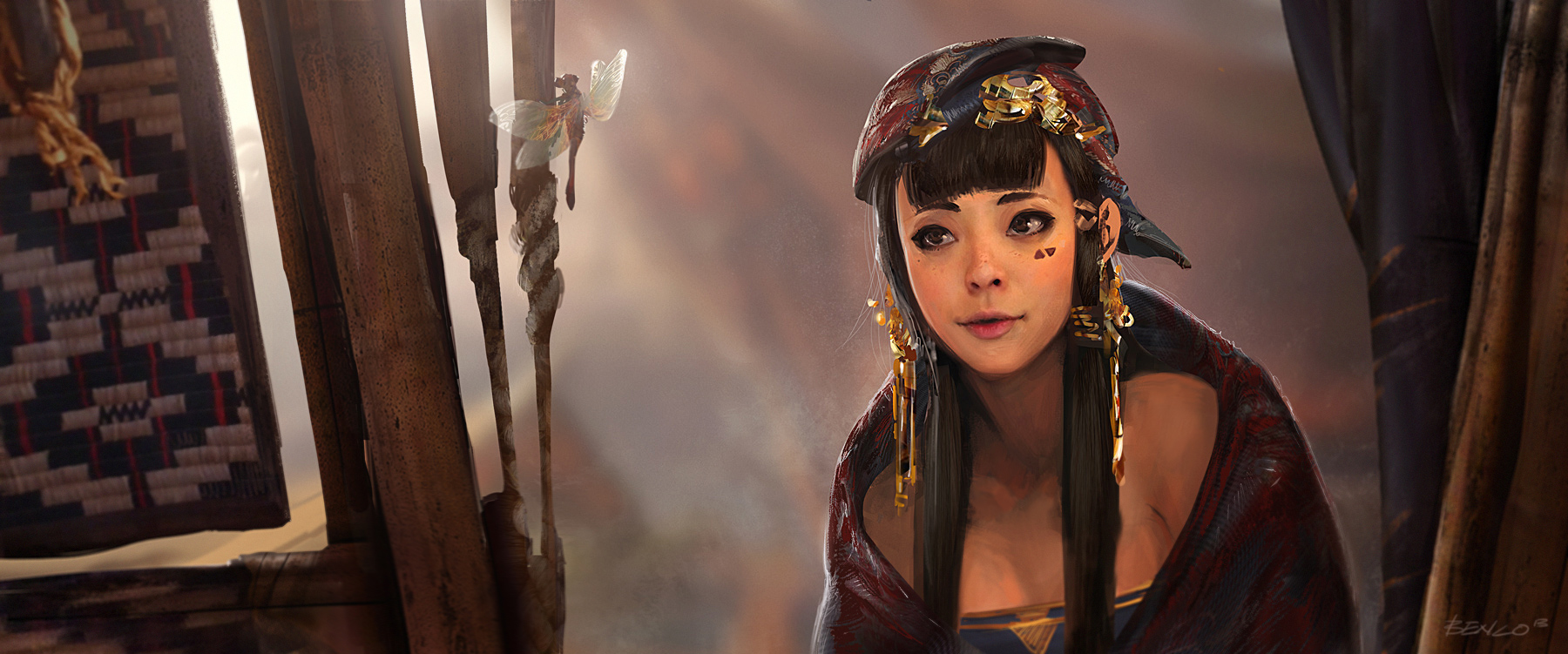 Les illustrations du digital painter Ben Lo