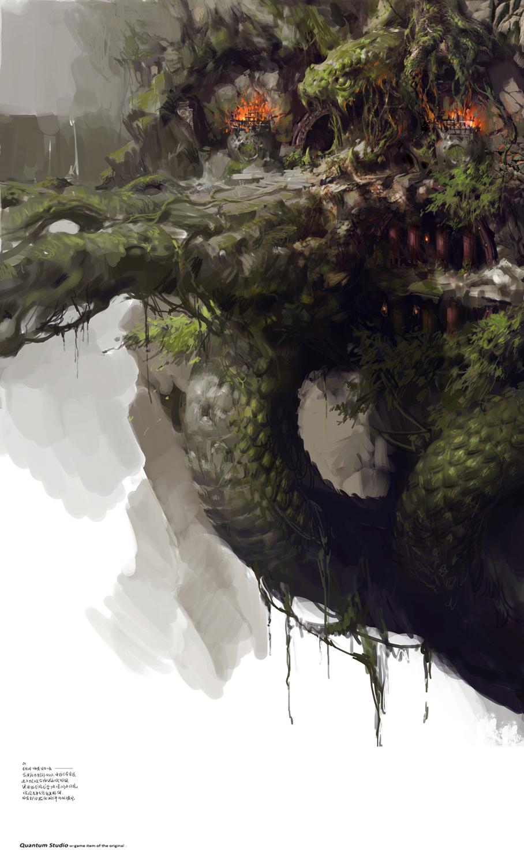 40 concept arts éblouissants du digital painter chinois Yang Qi