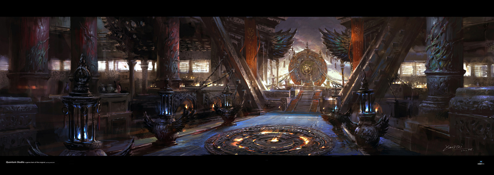 40 concept arts éblouissants du digital painter chinois Yang Qi
