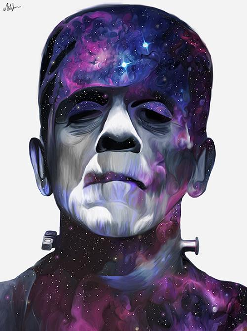 Les portraits fantastiques de Nicky Barkla