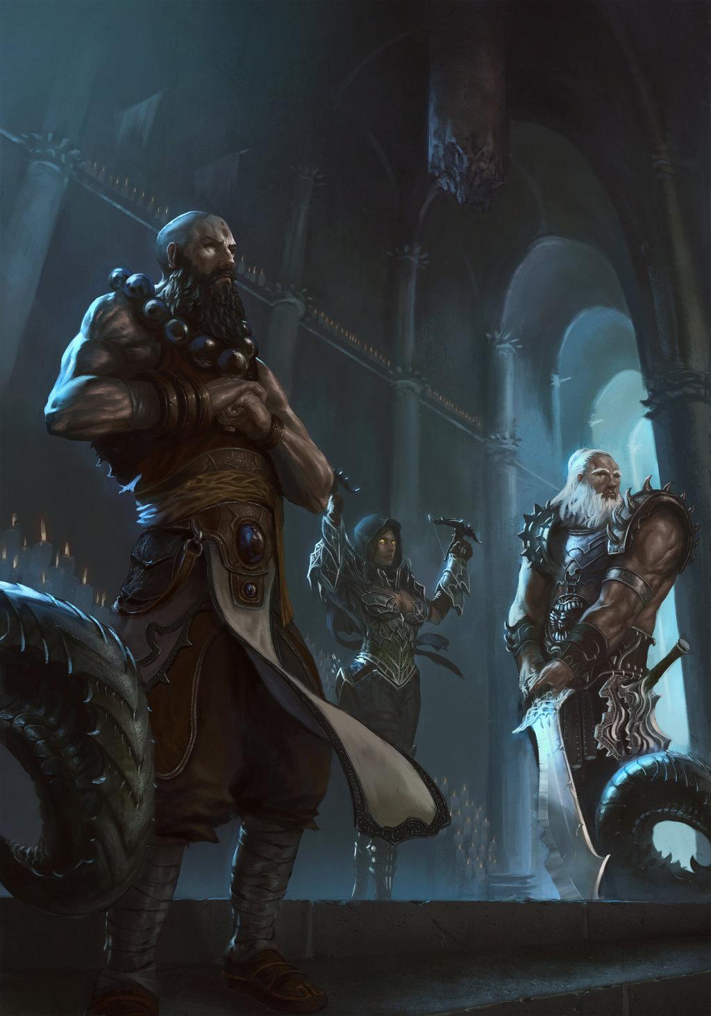 25 illustrations des vainqueurs du concours Diablo III ROS