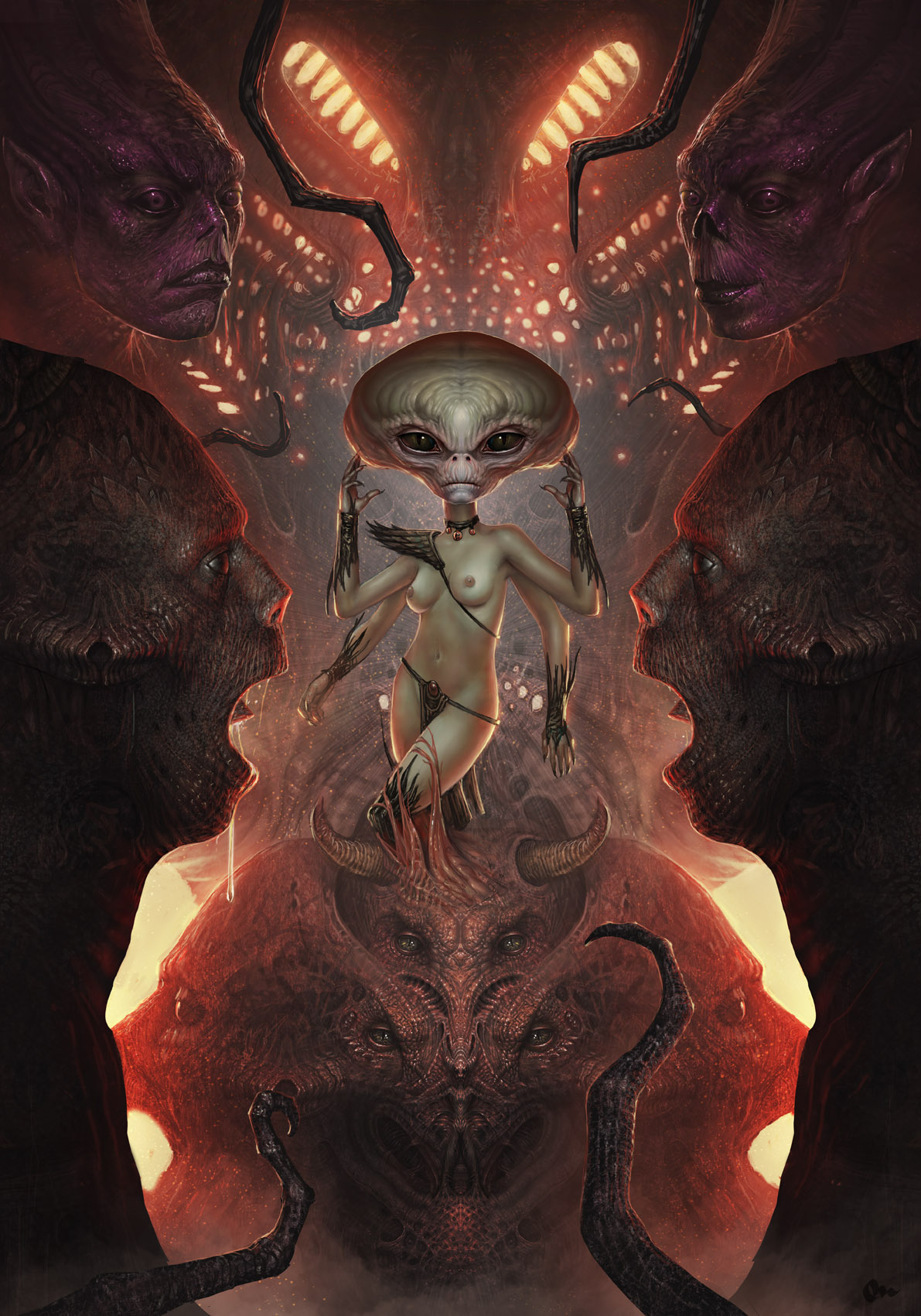 "Slashthree : nouvelle exhibition ""Monster"""