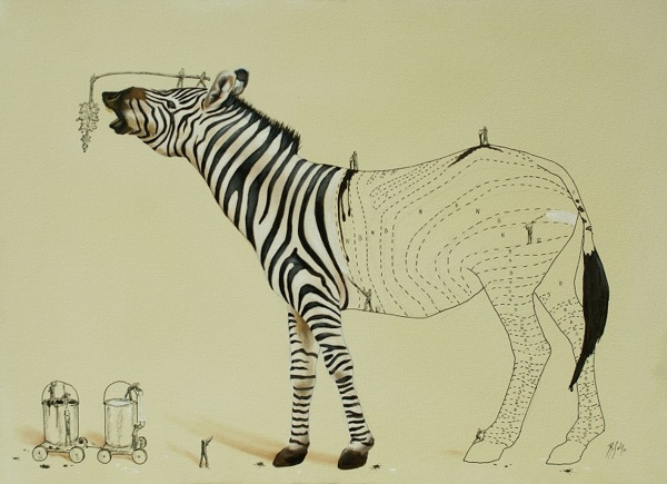 Les dessins surréalistes amusants de Ricardo Solis