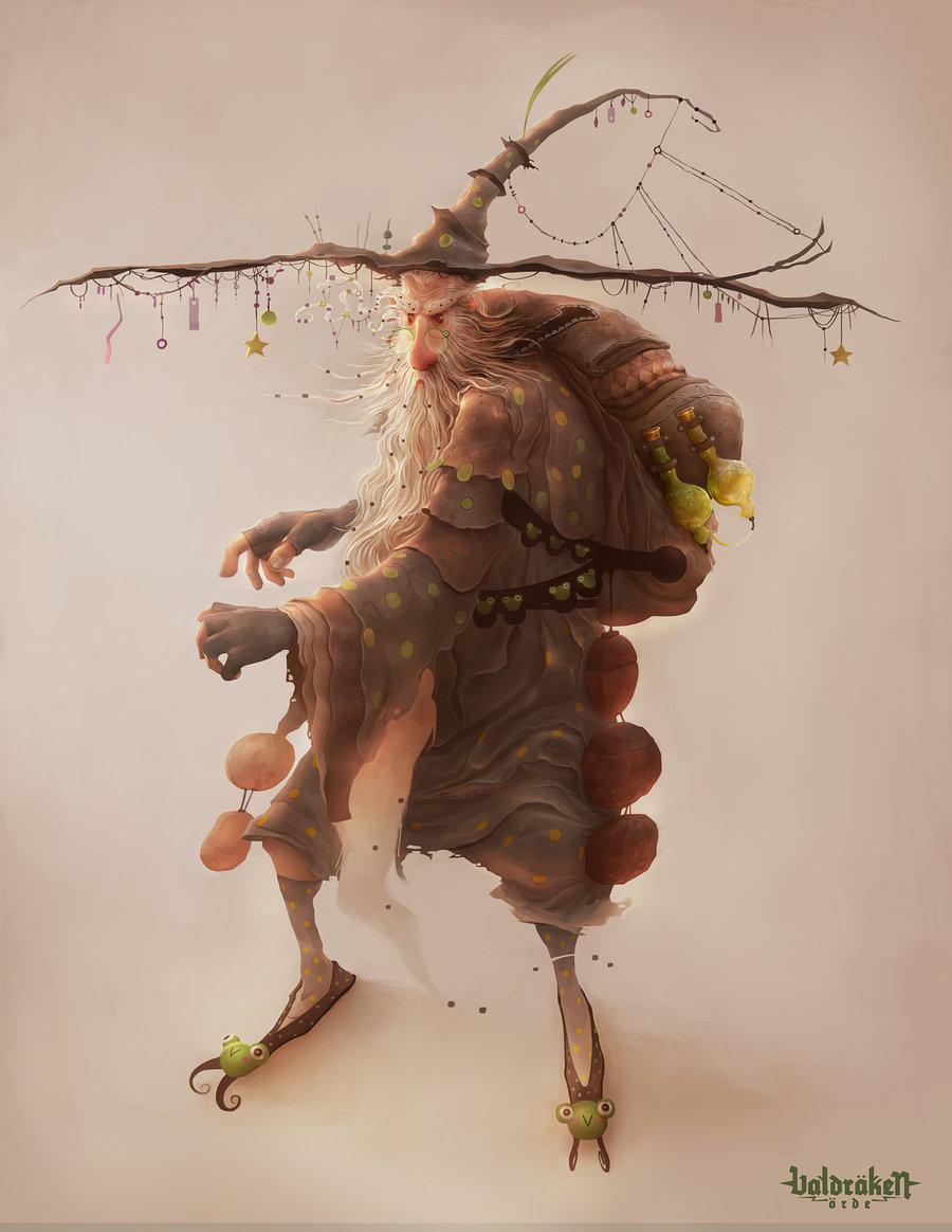 Les digital paintings de Trejoe Peters von Sperling