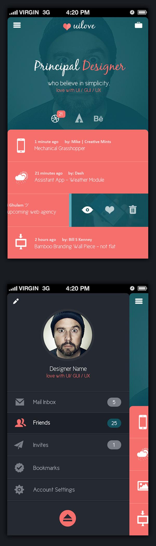 5 talentueux Webdesigners et Designers d'interface #5 : Kenil Bhavsar