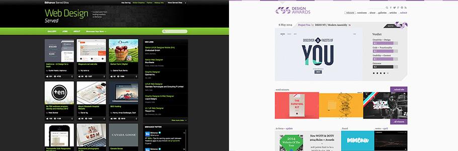Où trouver de l'inspiration pour vos webdesigns et UX ?