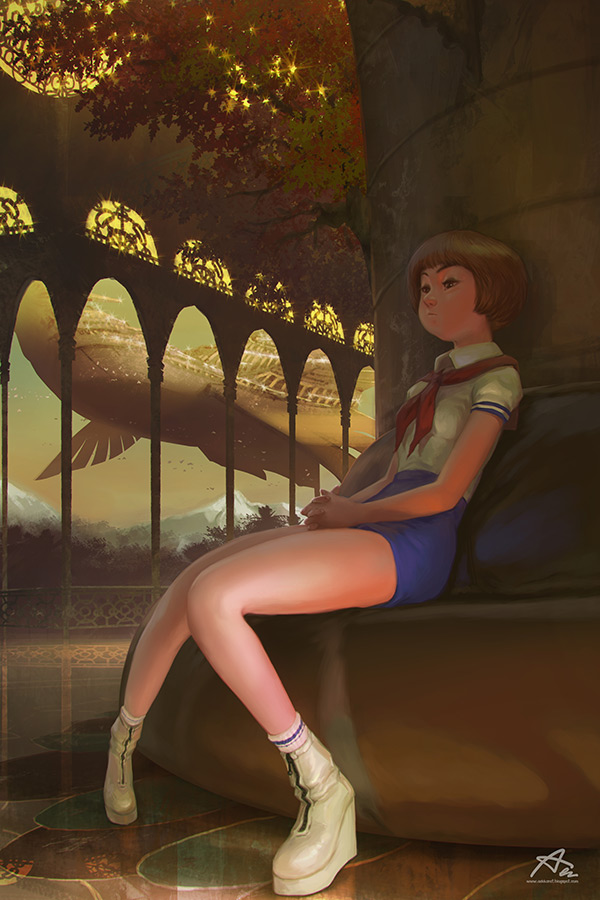 Les personnages d'animation d'Aekkarat Sumatchaya