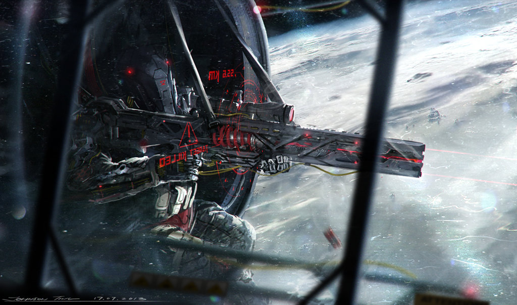 """Neo Japan 2202"" du concept artist Johnson Ting"